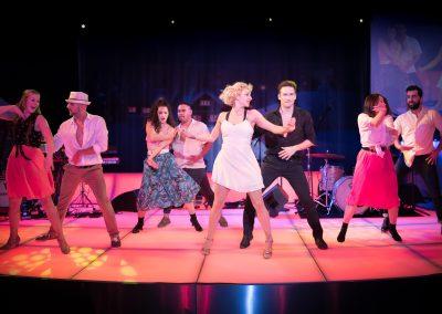 Tänzer auf der Bühne
