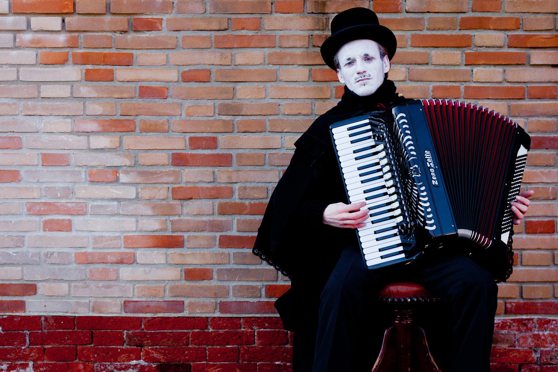 Straßenmusiker in Venedig